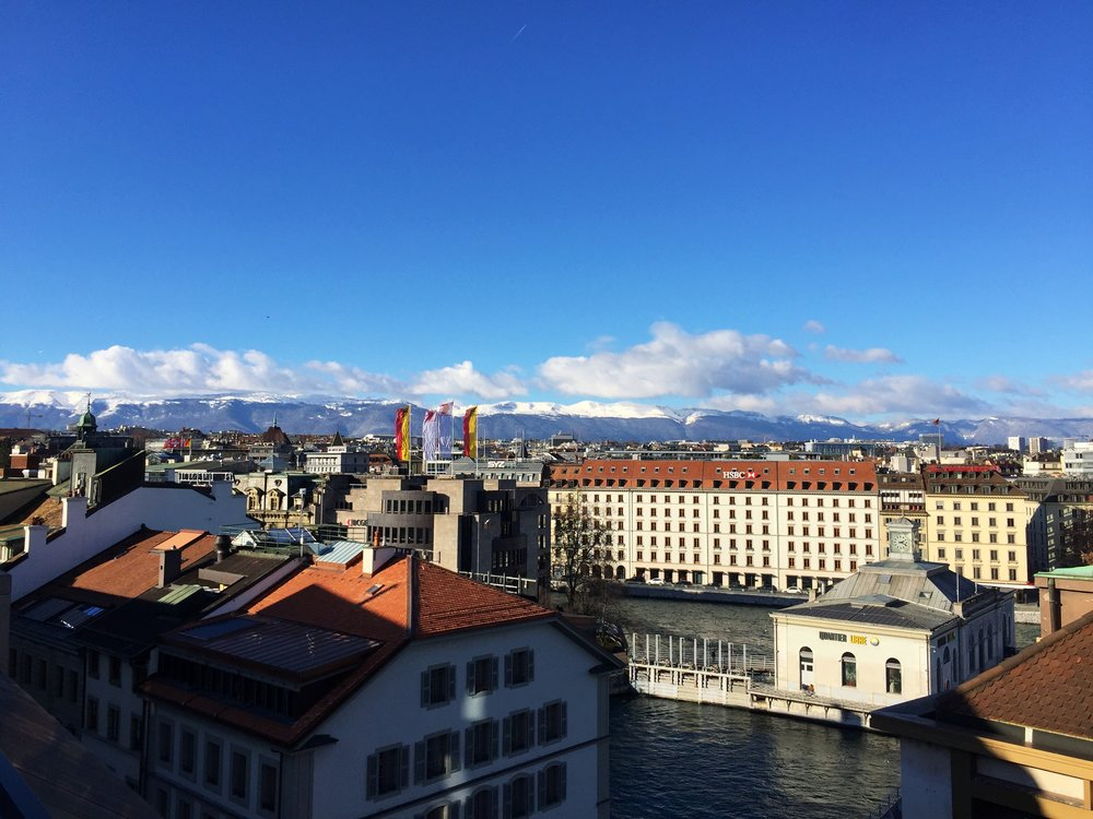 I spent two weeks in Geneva (Switzerland) and holy heck, was it ever expensive! But thankfully I was housesitting (3 dogs!) in the heart of the old town. So I was able to spend two weeks in one of the world's most expensive cities, rent-free!