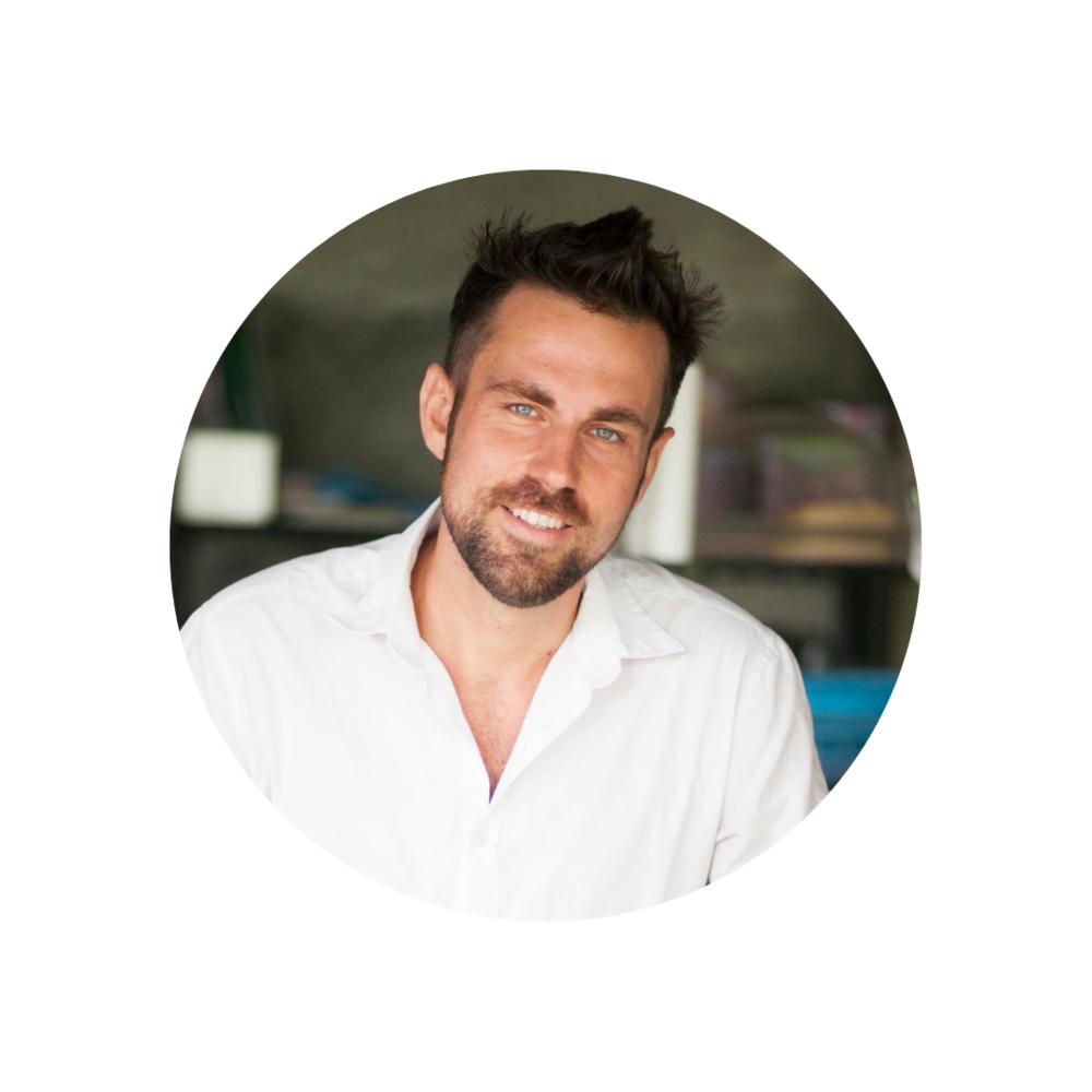 SIMON JONGENOTTER (NETHERLANDS)   Chef, Earth Tender & Healing Facilitator