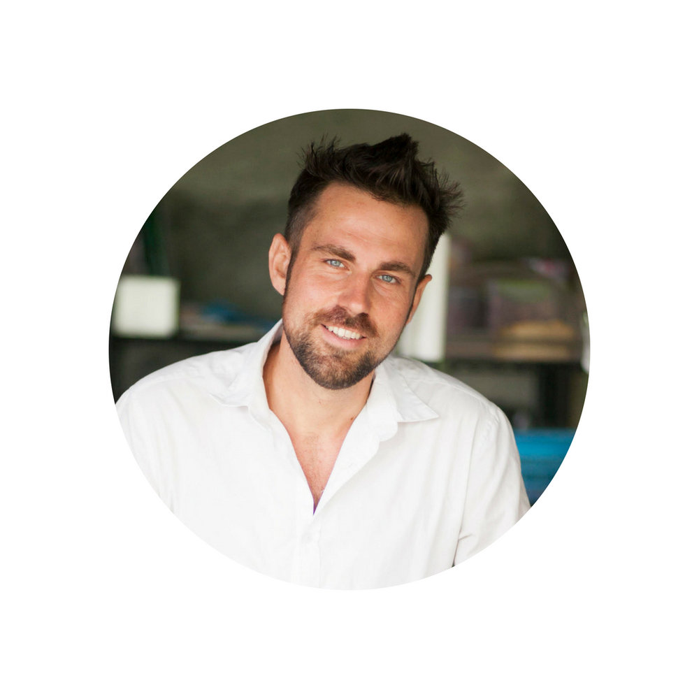 SIMON JONGENOTTER (THE NETHERLANDS)   Chef/co-creator of Zest Ubud, the food at Bali Silent Retreat, food forest custodian and founder of the New Earth Cooking School