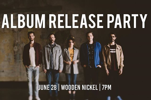 Tommorow night we will be releasing @rosalindandtheway new album at @woodennickelrecords at 7pm!  Come listen and even purchase the new album on CD!!
