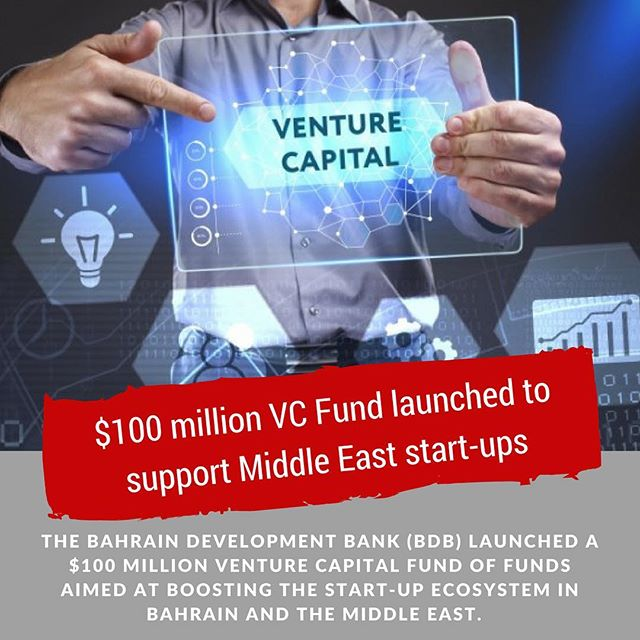 $100 million VC Fund launched to support Middle East start-ups (link in bio)