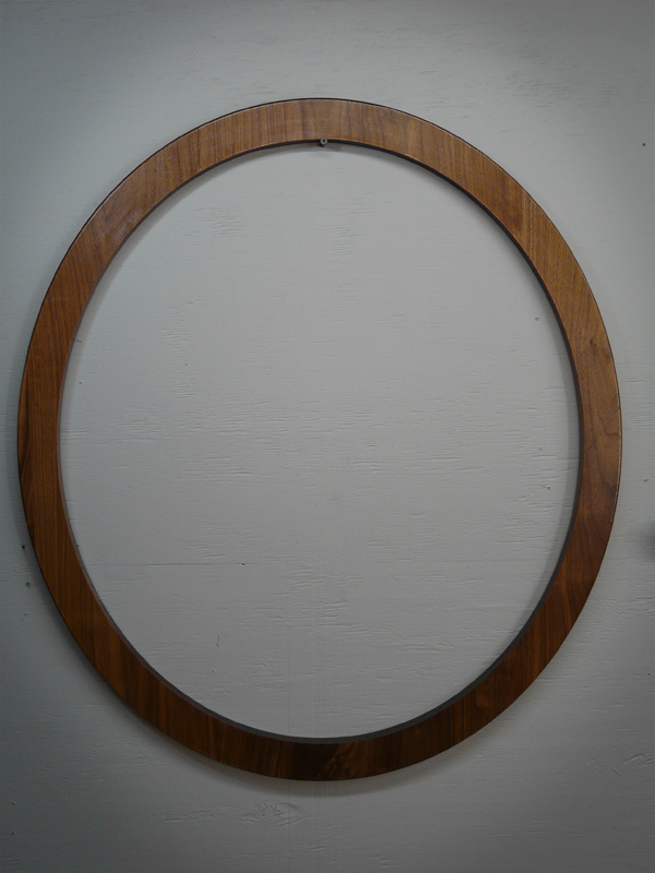 Walnut Beaver Hoop Display