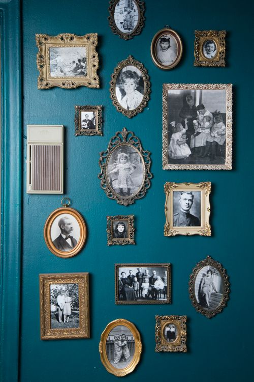 VintageFrames - Ignore those boring images housed inside antique frames. The image itself can easily be popped out and replaced with treasured ones you already have!