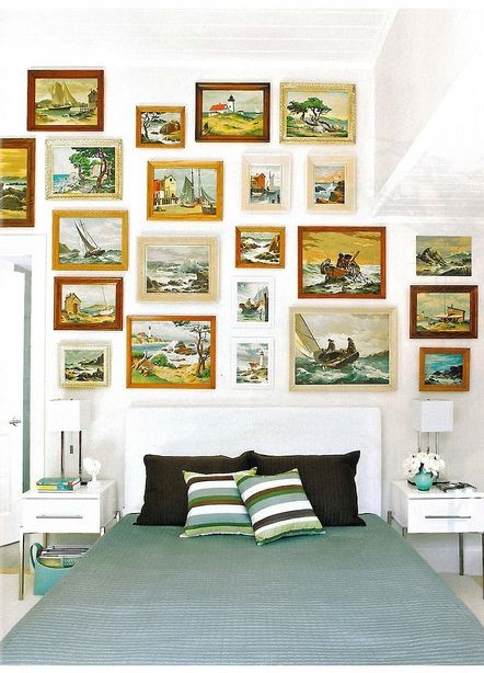 Paint byNumbers - These artworks may seem a little cheesy at first glance, but mixed with the right elements they can bring a curated, fresh, and modern look to any space.