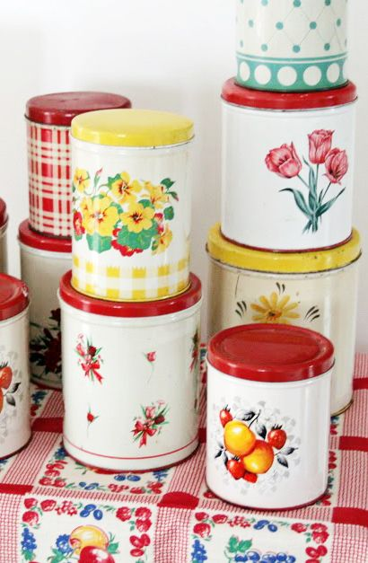 Canisters - Canisters are a customer favorite here at The NAT. People are always looking for a little extra storage on their counter, and a stacking canister set does just that while looking cute!