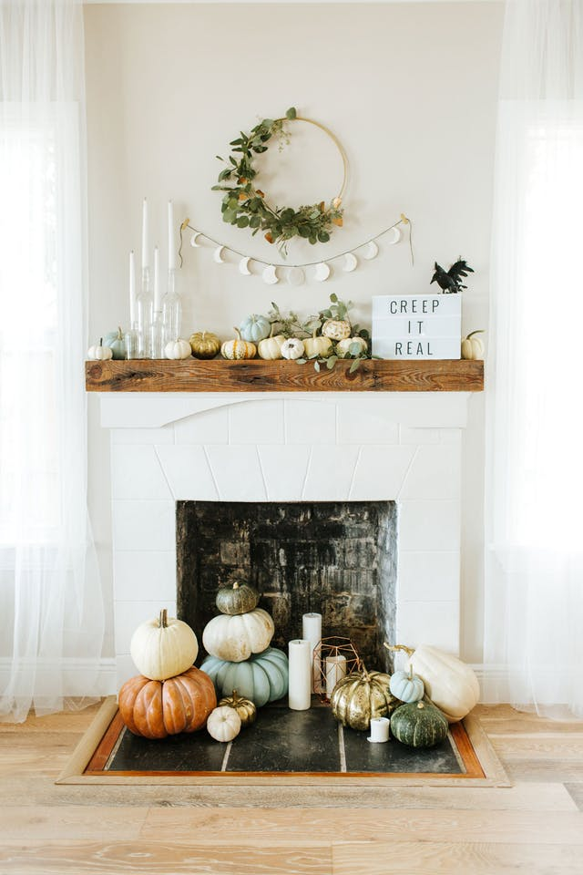 Go Glam - Fairytale pumpkins are our FAVORITE! Stack them on your mantle - or even your front porch - for a whimsical and glamourous vibe.