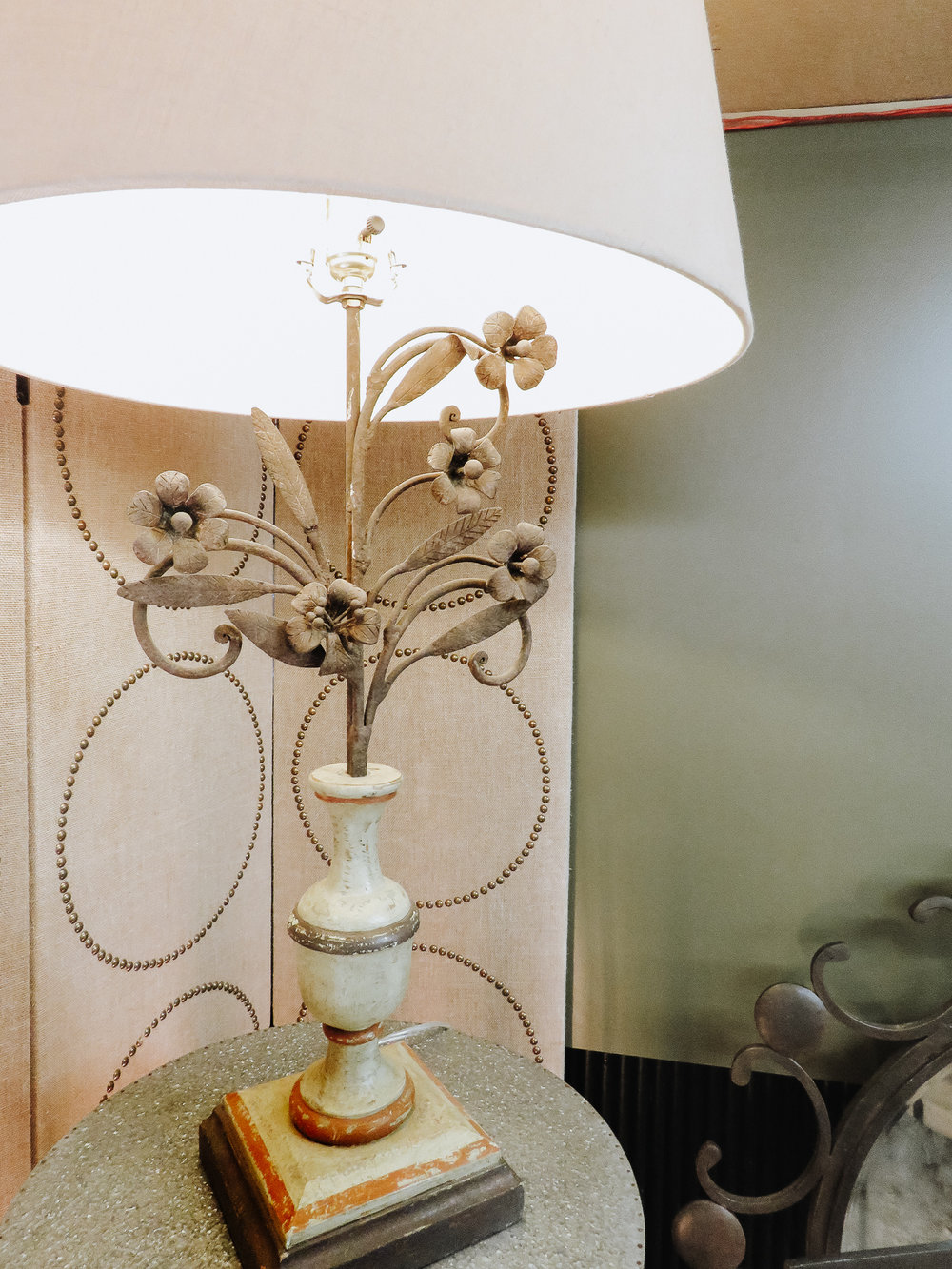 Lighting - Updating light fixtures is a great way to brighten up your space. These floral lamps from Elevate Home Decor add the perfect spring-y touch that your home needs.