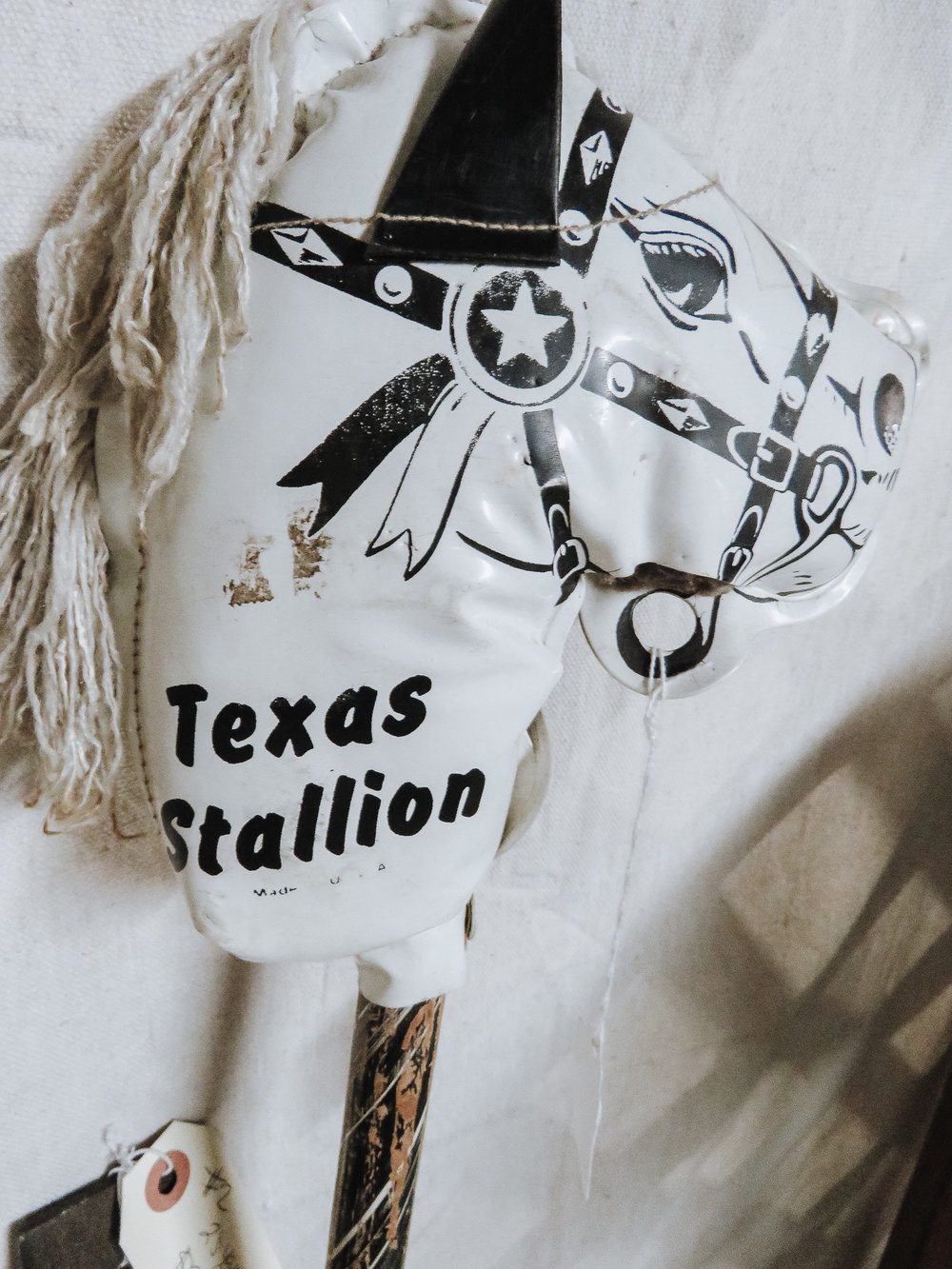 For The Kiddos - There are a lot of Texas themed toys to make road trips a little more fun for the whole gang! This Texas Stallion Stick Horse would make a great toy to play with at rest stops along the way!