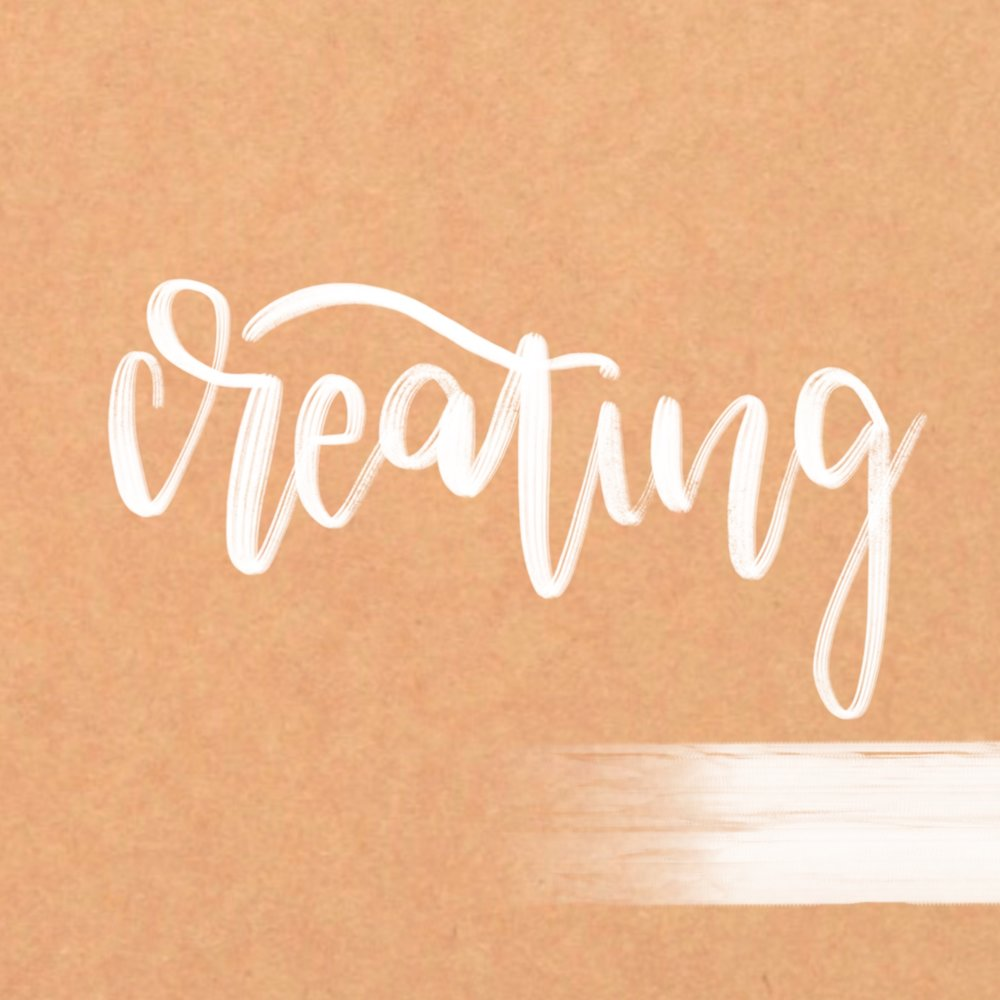 Lettering Creating
