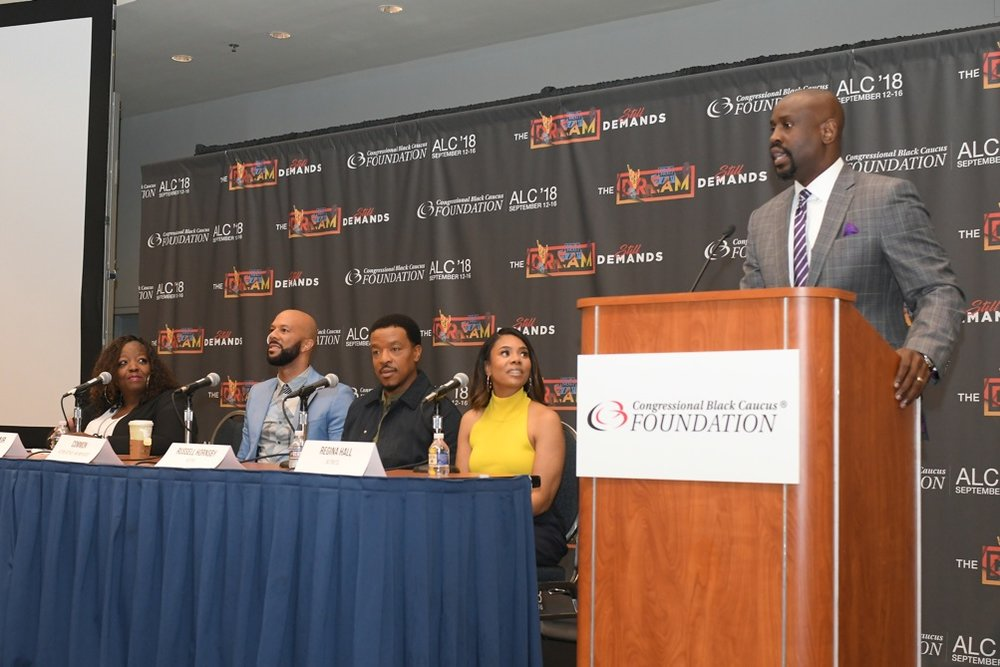 Winsome Sinclair, Common, Russell Hornsby, Regina Hall, and David Morgan.