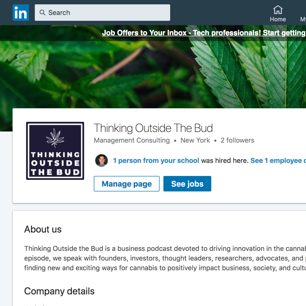 Thinking Outside The Bud - LinkedIn