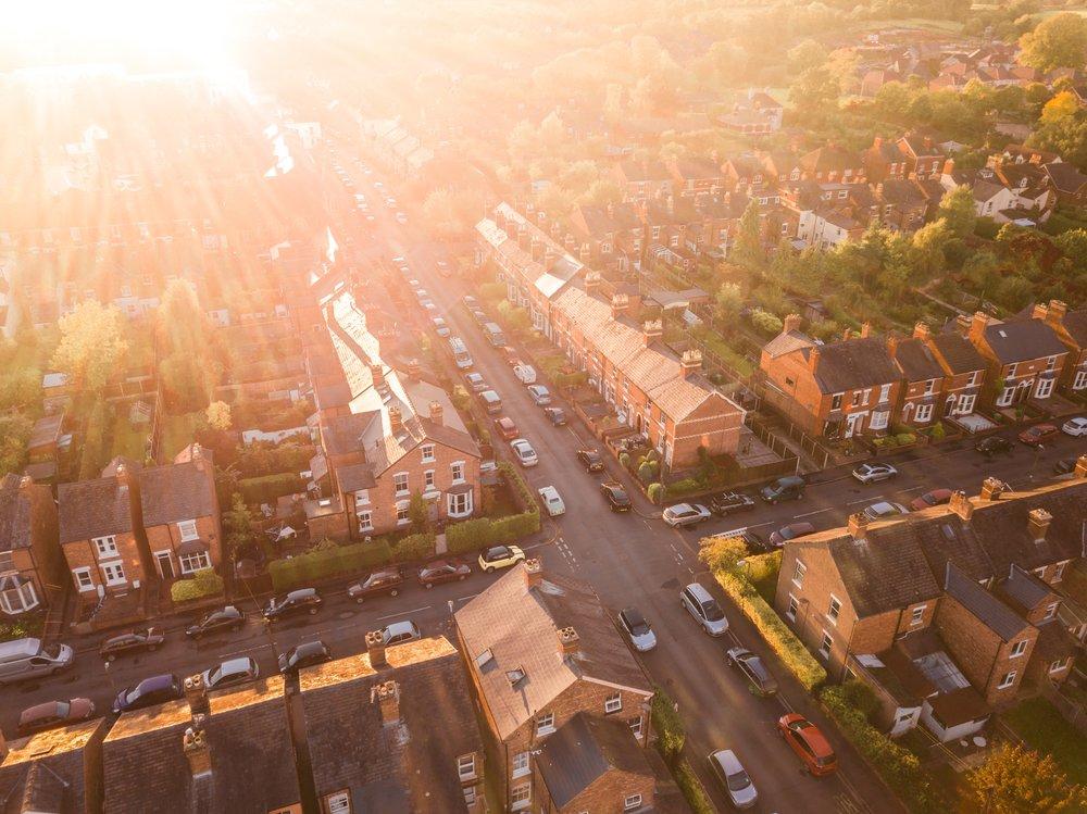 Aerial view of UK suburb.jpg