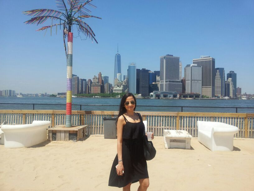 Neha Baulch moved from London to New York