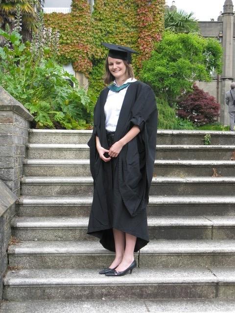Vicki Owen at her graduation