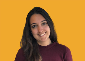 """London born and raised, Kalpana now lives in New York. She is a developer working in data engineering and visualisation. She's especially interested in money tips for dual nationals and learning about """"side hustles"""" (side businesses)."""