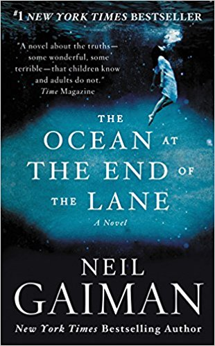 The Ocean at the End of the Lane by Neil Gaiman - I've reviewed several of Neil Gaiman's books before and with a good reason - Gaiman is one of my favorite writers of all time. He has this rare style of writing that is not only classic, it's entertaining as well. I made it my goal last year to read all of Gaiman's writing and I'm happy to continue that goal through The Ocean.