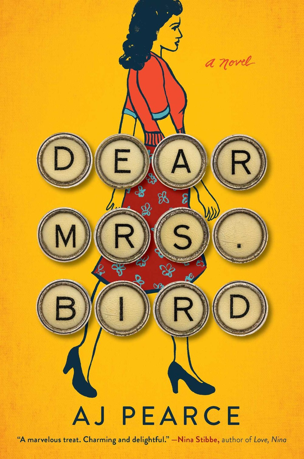 "Dear Mrs. Bird by AJ Pearce - When Jen came to visit, I remember she was raving about the amount of Dear Mrs. Bird that she had gone through. We had an easy day during her visit, relaxing poolside with books and I remember at one point she excitedly looked up at me and said, ""there's been a bombing and I can't talk to you now because I need to know what happens!"" If any book can make Jen feel like that, I need to know more about it and then I need to share it with my readers! I'm so glad that Jen managed to get this review for me because I legit picked it up at my library the day after I got this review because Jen just made it seem that good!"