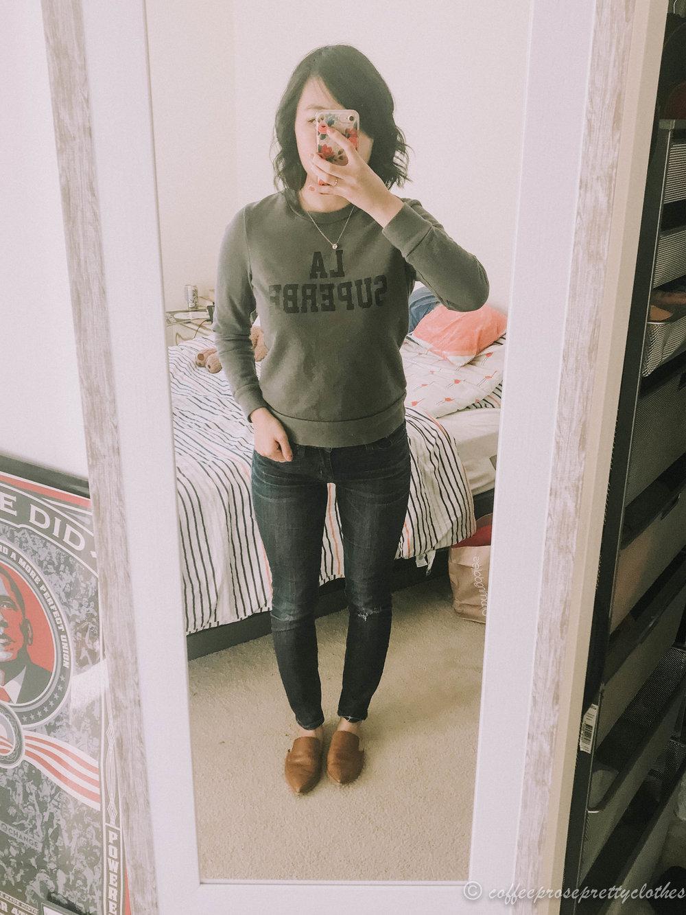 Madewell Sezane Sweater