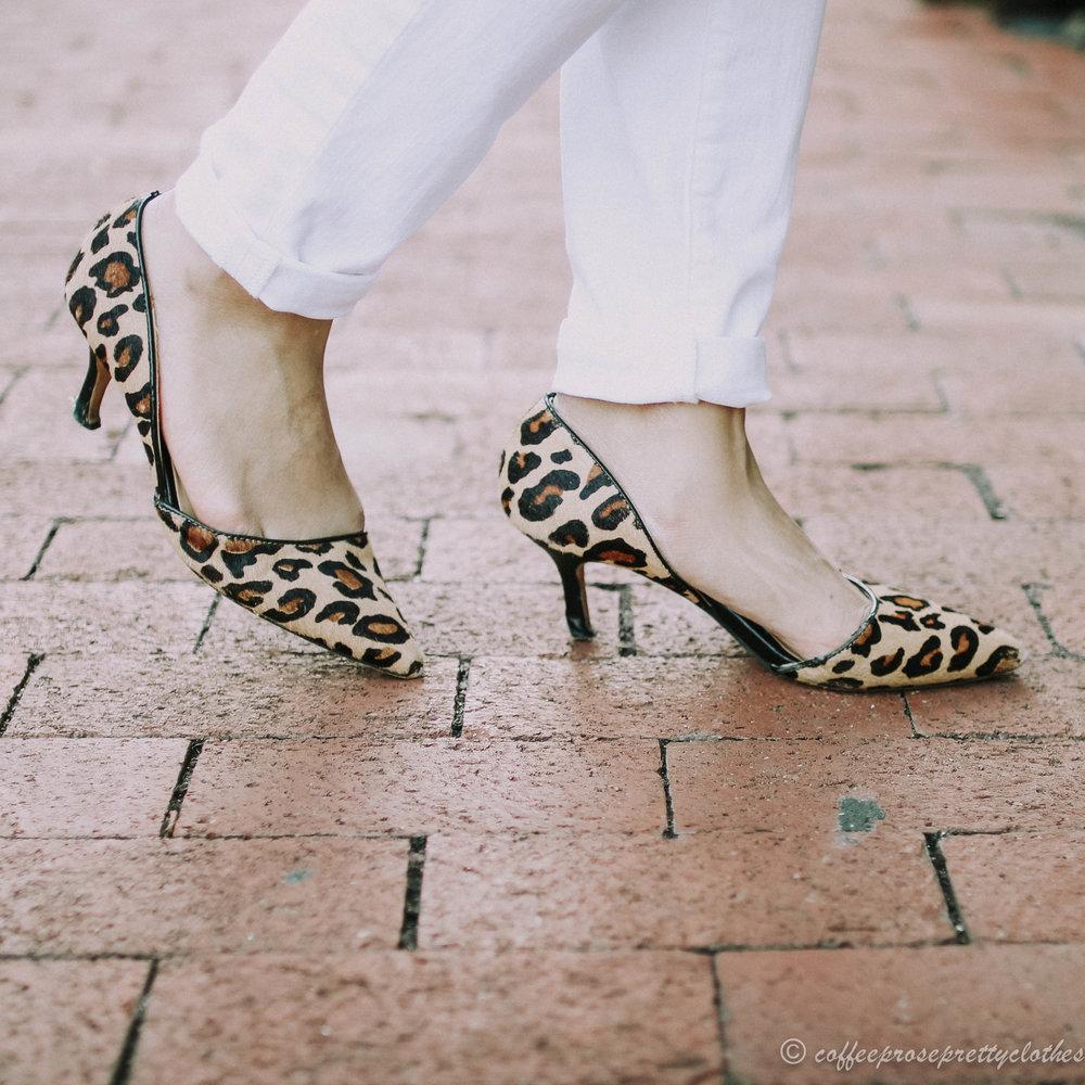 Sole Society Jenn Leopard pumps