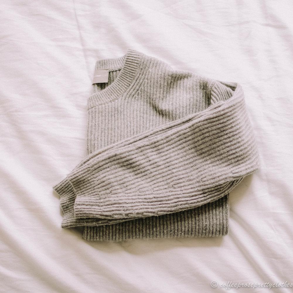 Everlane Cashmere sweater