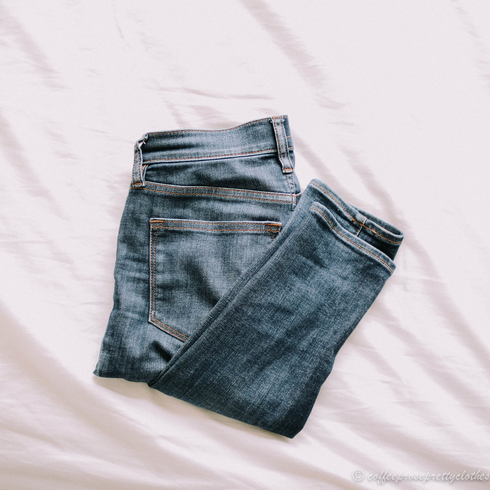 Madewell 9-inch rise jeans