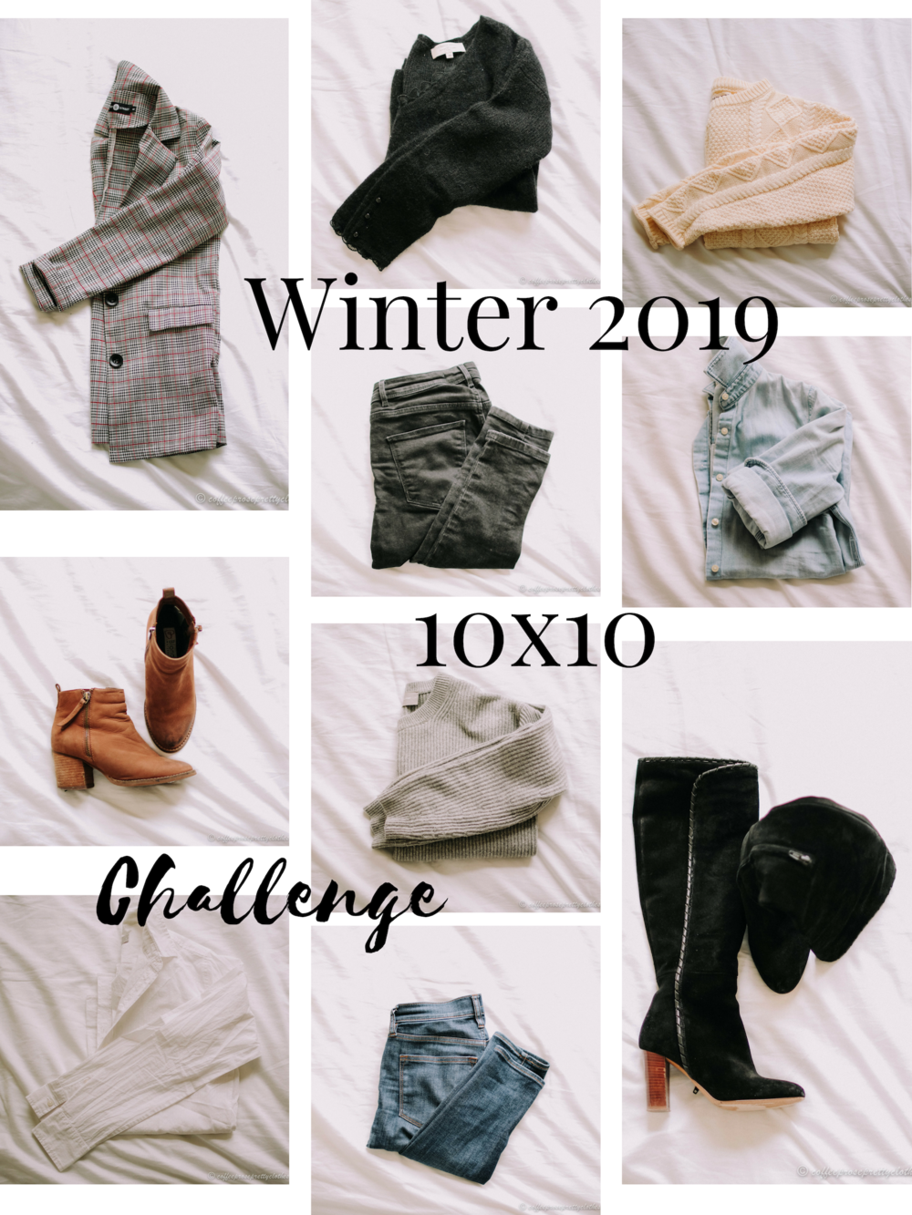 Winter 2019 10x10 Challenge