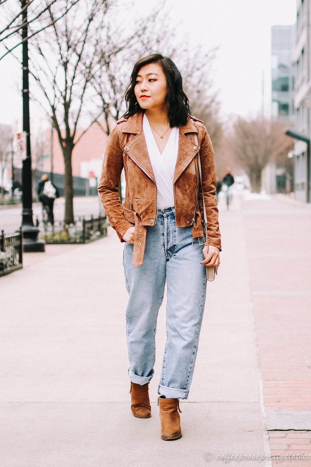 Peneloppevintage Vintage Jeans and Blank NYC Moto Jacket