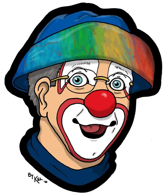 Mr. Rainbow The Clown - Under ReConstruction