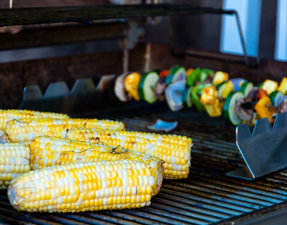 Side Dish: Grilled Seasonal Veggies -