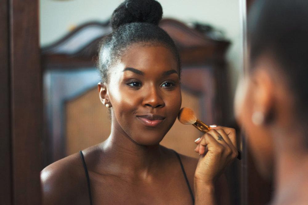 foundation application black girl blogger