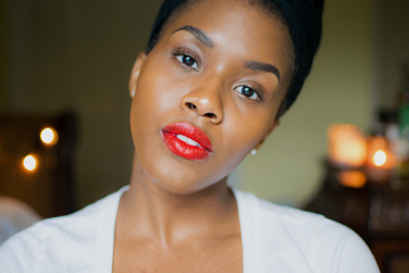 black beauty blogger red lipstick guide