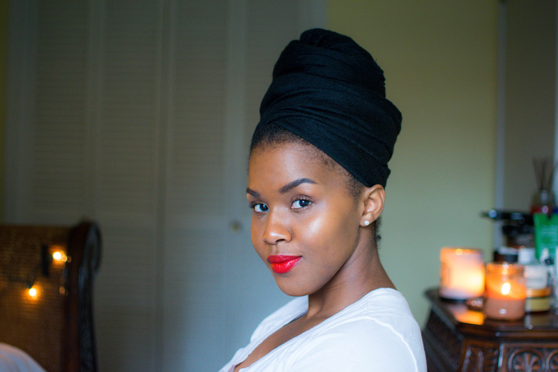 lifestyle blogger red lipstick
