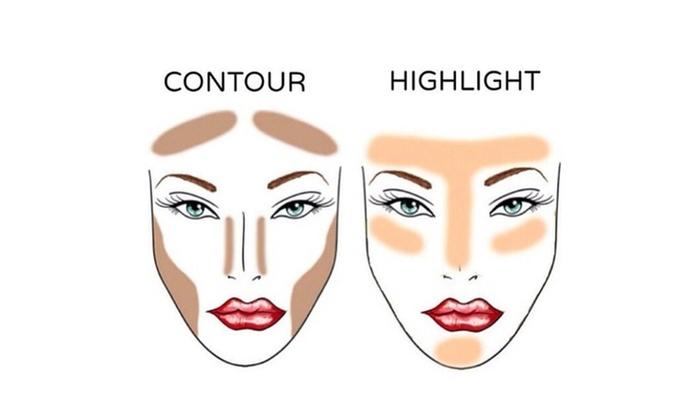 glowkit highlight contour makeup