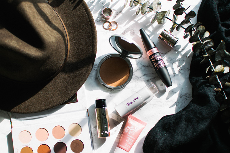 glossier ciate highlighters women of color