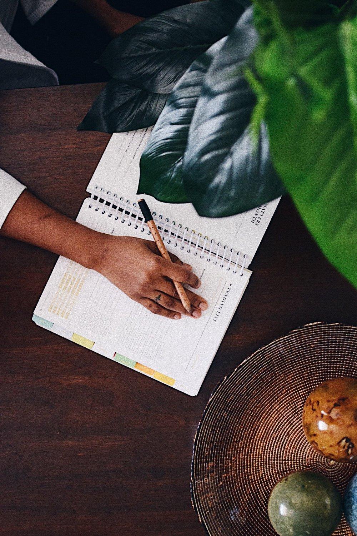 blogger hand 2018 planner
