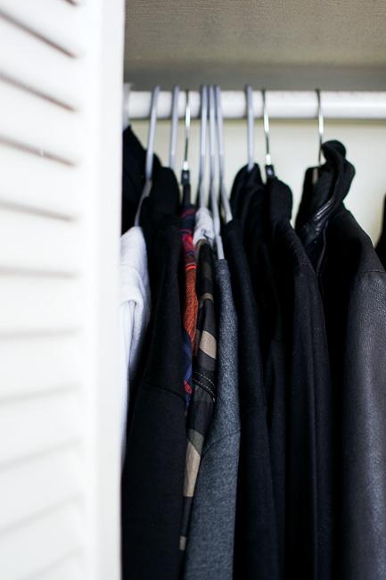 closet blogger minimalist