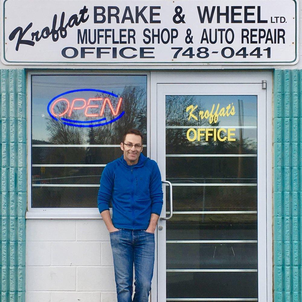 Dwight Milford: owner, Operator & technician Kroffat Brake & Wheel