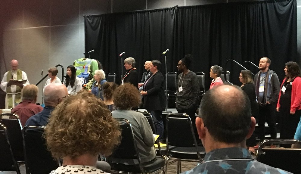 Commissioning of new leaders at the Pacific Northwest Conference Annual Meeting, April 2018