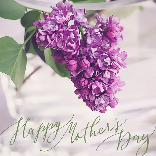 To all the mamas out there, giving their best and raising little humans in a tough world, I thank you! 💜 I hope you all have a beautiful Mother's Day!