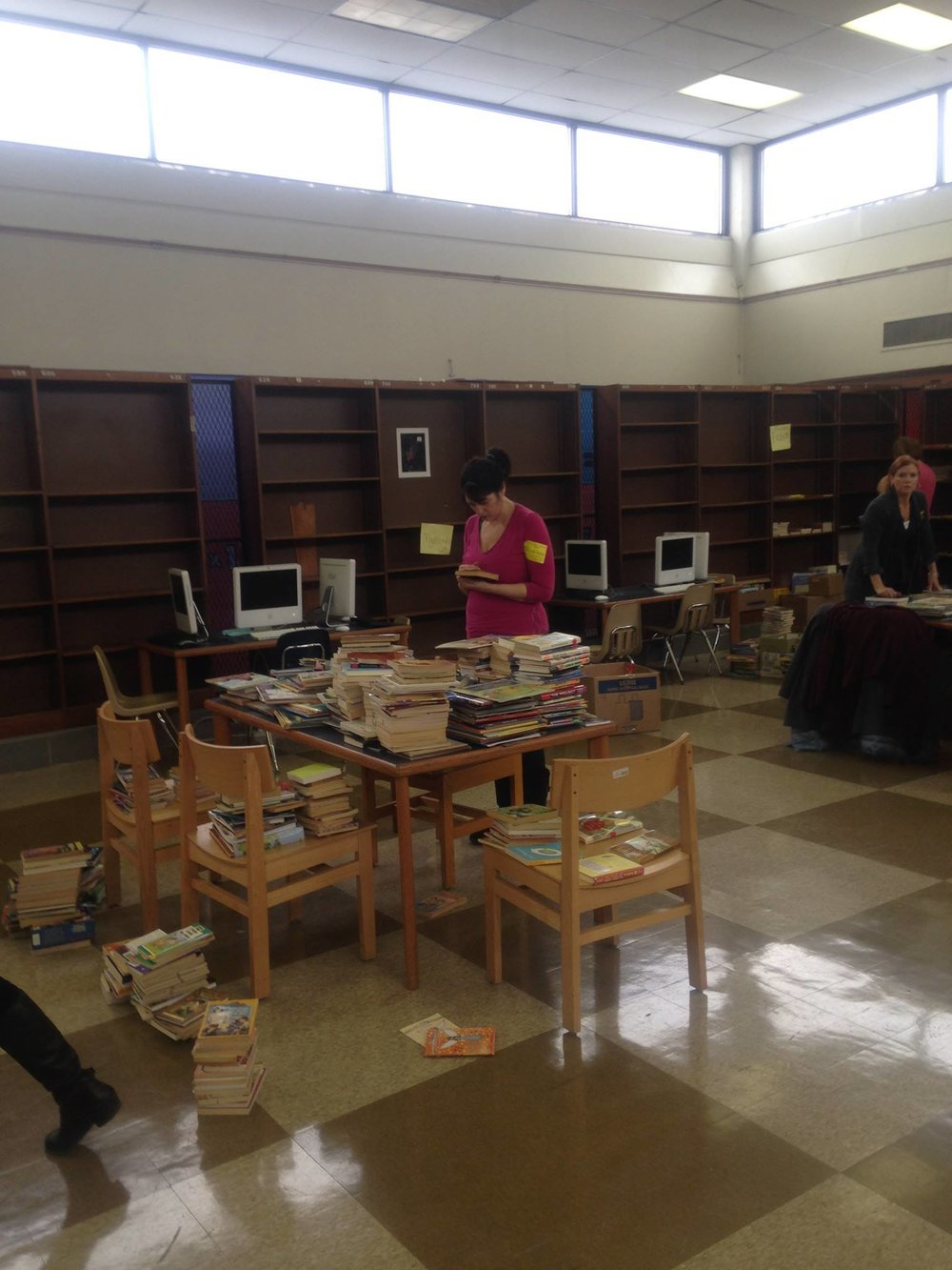 Figuring out how to build a library with no librarian