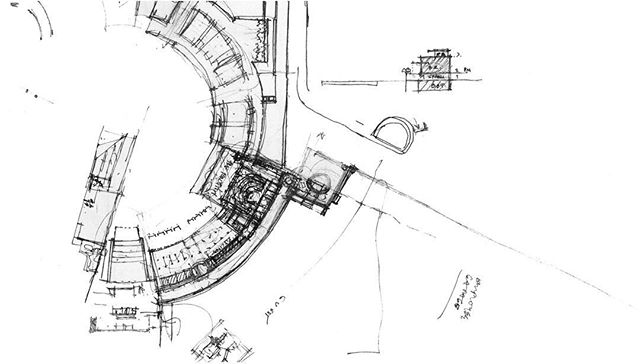 #bruarchitects #beautiful #sketch #handdrawing #hospitality #contemporary #modernarchitecture #archdaily