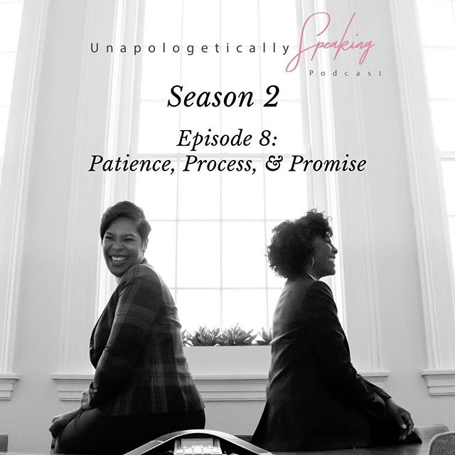 Did you miss last week's Season 2 kickoff on FB LIVE? Well if you did, you can listen to our conversation about Patience, Process and Promise tomorrow on Spotify and Apple Podcast. There are a lot of nuggets so make sure you have a pen and paper ready📝! We're not playing games in this new year! We are trying to live our best life, and help you live yours! So tune in tomorrow for Episode 8: Patience, Process and Promise!  #untilnexttime #unapologeticallyspeaking  #beboldbecourageousbeunapologetic #helpingwomenwin  #podcastlife
