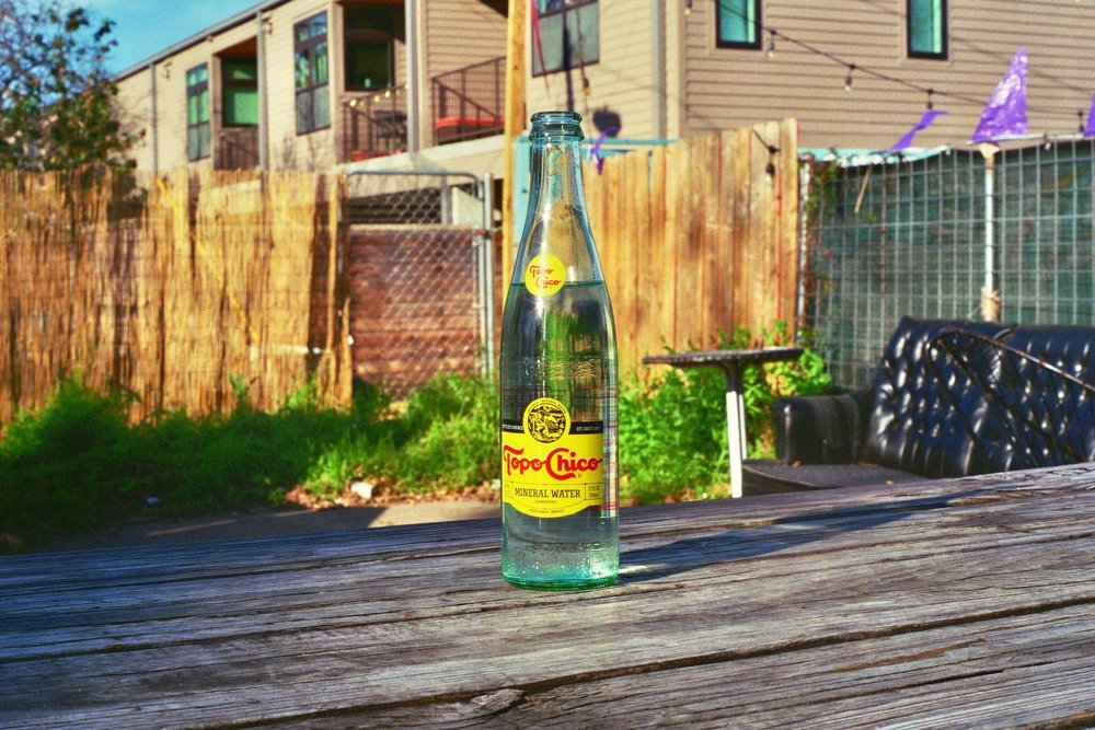 Topo Chico: This stuff is admired by locals with the same reverence one would expect for holy water.  Austin, TX