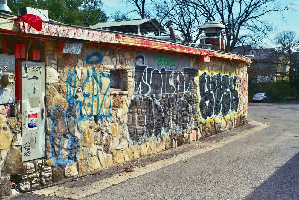 Though generally more polished than East Austin, Bouldin is not without some funkier areas.  Austin, TX