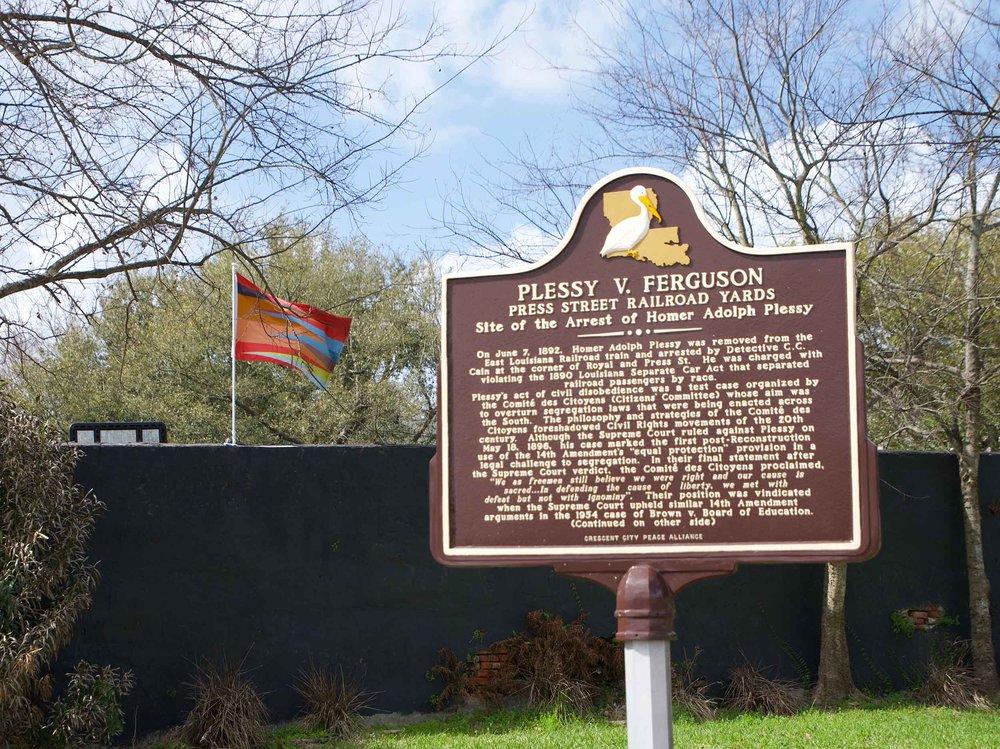 Homer Plessy Memorial
