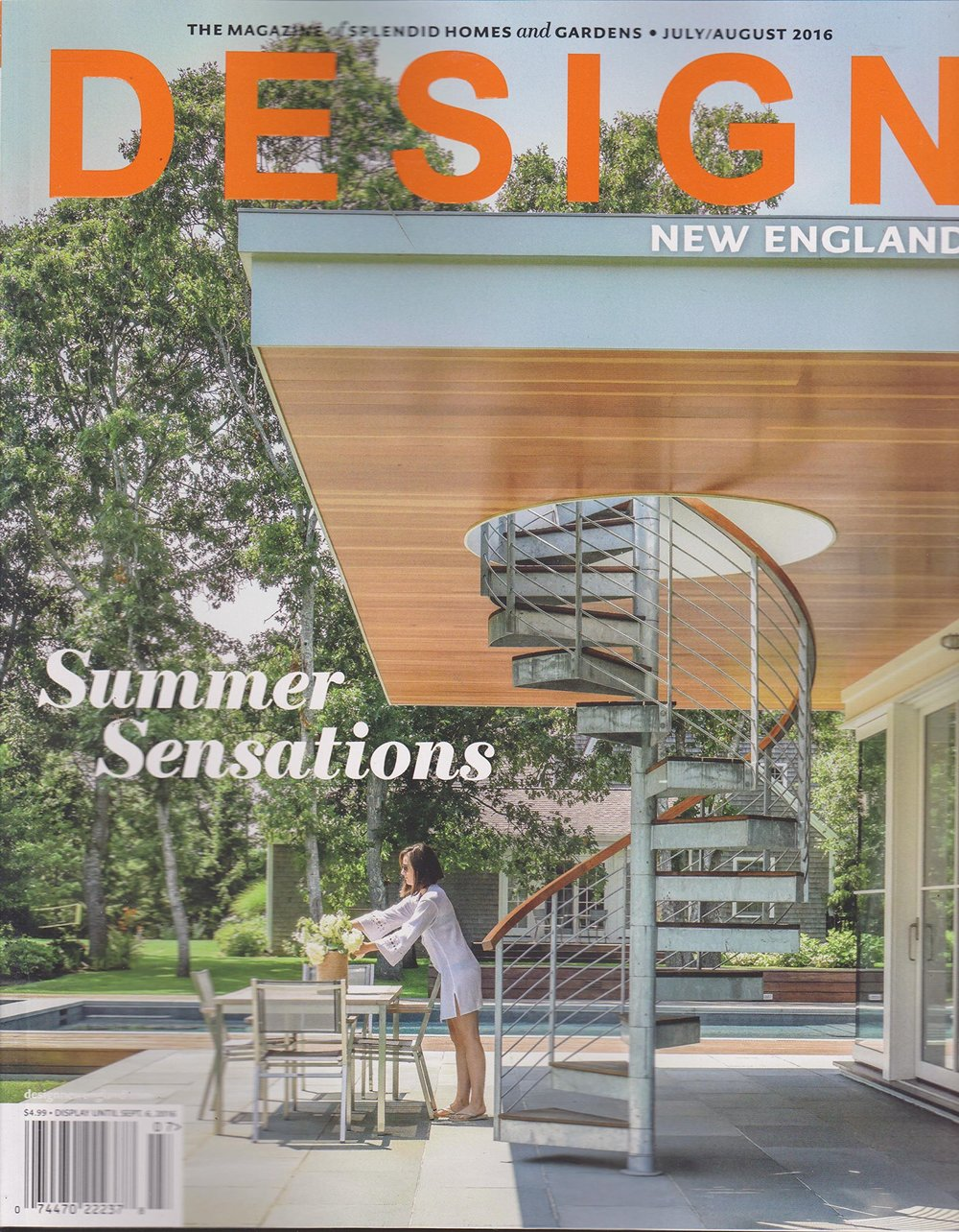- Design New EnglandJuly/August 2016New house, Old soul. New Shingle Style Residence in Chappiquidick