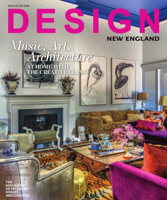 - Design New England May/June 2018Comfort & Color -New Dining Addition to An Existing Brookline Home