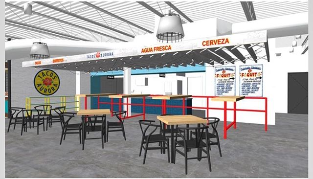 Please excuse our absence during the week of 9/2 as we take a few days to gather needed items for the new brick & mortar location coming soon to East Nashville. We're very excited for our fall opening, here's a sneak of the design rendering of our place. You can look forward to Tacos done the traditional way; Pastor al trompo, Carnitas de caso de cobre, grilled Carne asada and our California style burritos.