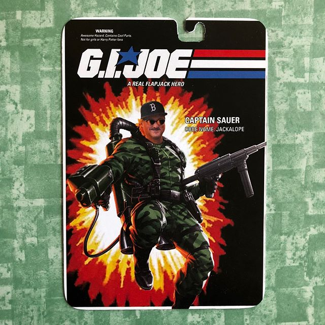 Happy birthday to Captain Sauer, A Real Flapjack Hero! #yojoe #realamericanhero