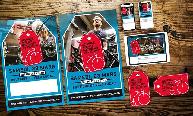 We're excited to announce our site is now available in French. Many thanks to the fine folks at @pedalmag for their translation efforts. #bikestoreday2019 #journéemagasinvélo2019